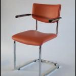 buisframe stoel met armleggers